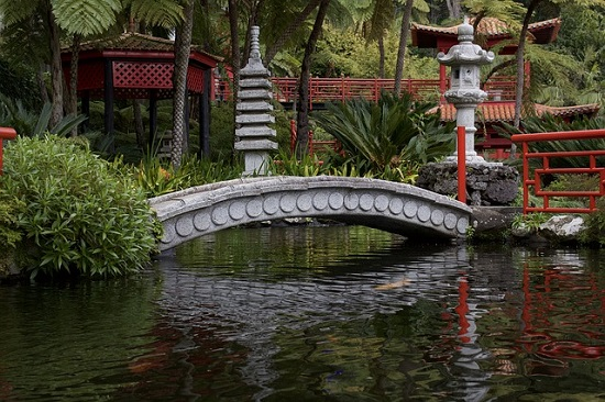 Monte Palace Tropical Garden Stone Lanterns